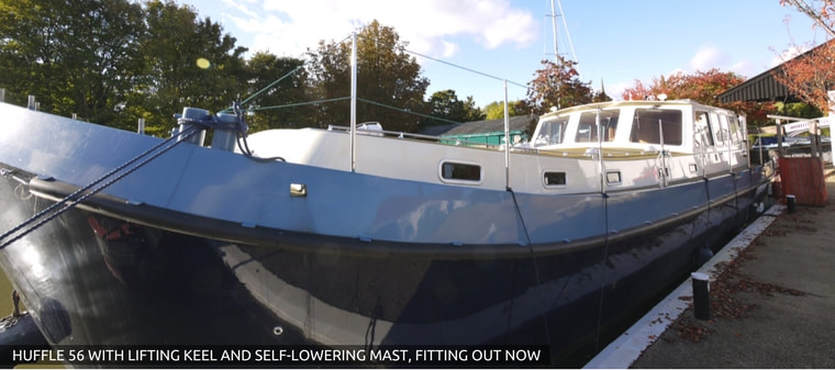 45ft new 5 berth launch ready now and for sale